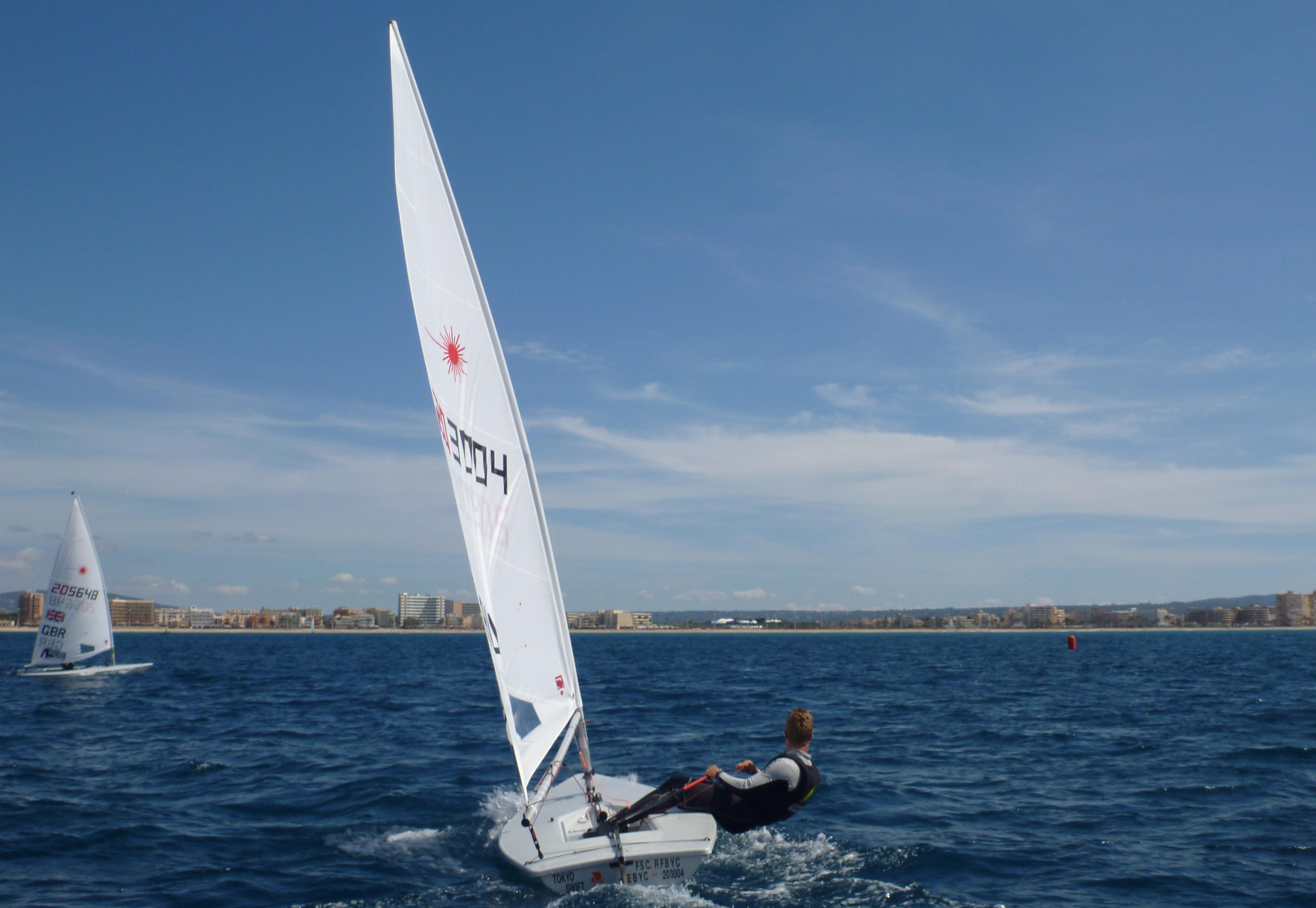 Pre-regatta training