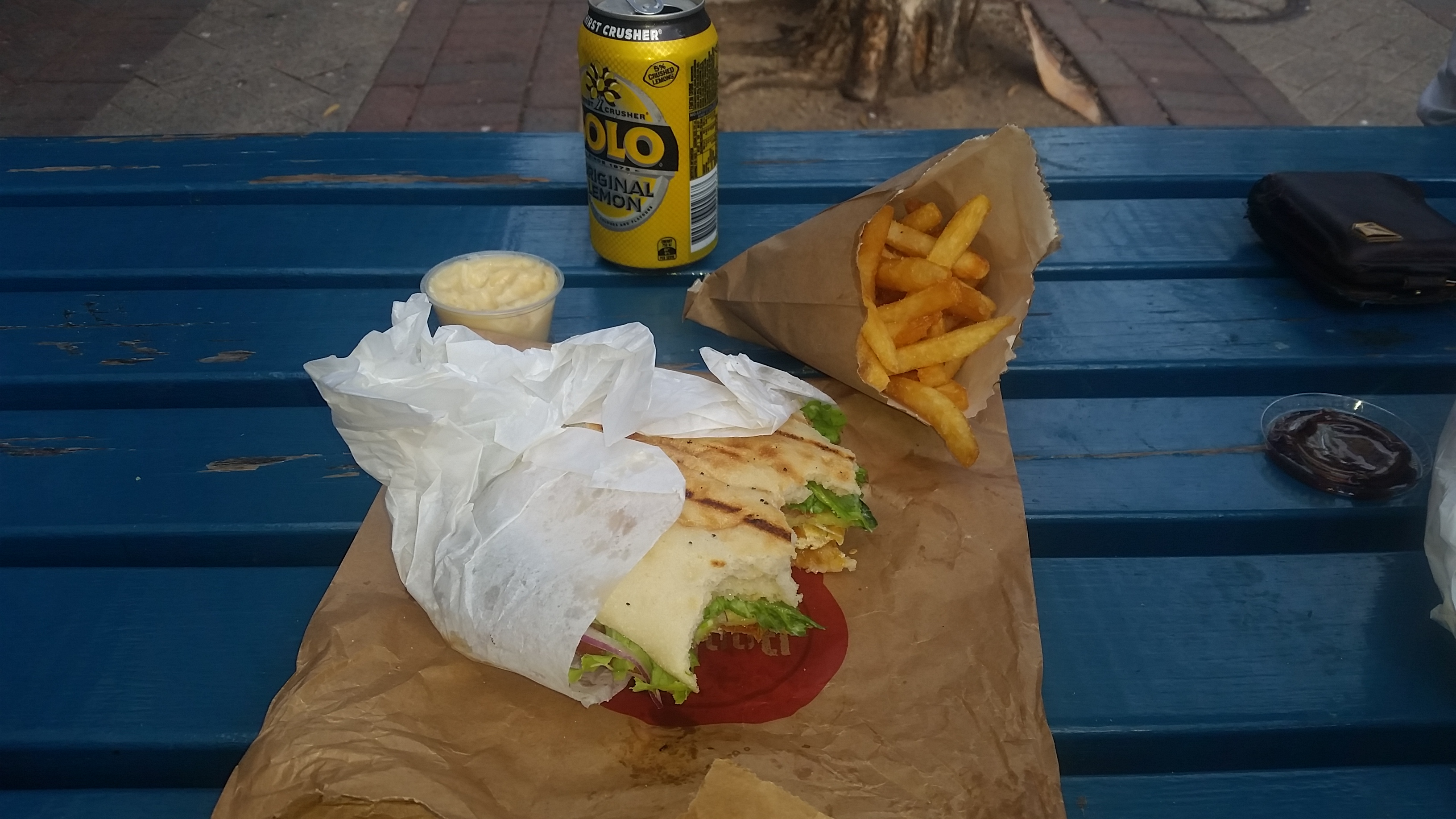 Hard to beat a cheat meal like this. Being a Vego I had to stick to the Tofu buger but still soooo good